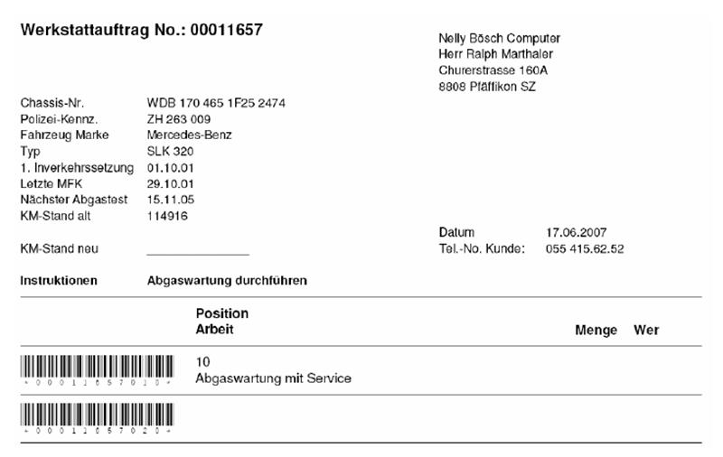 Nelly Bösch Computer - Grafik 02 - Garagen-Lösung